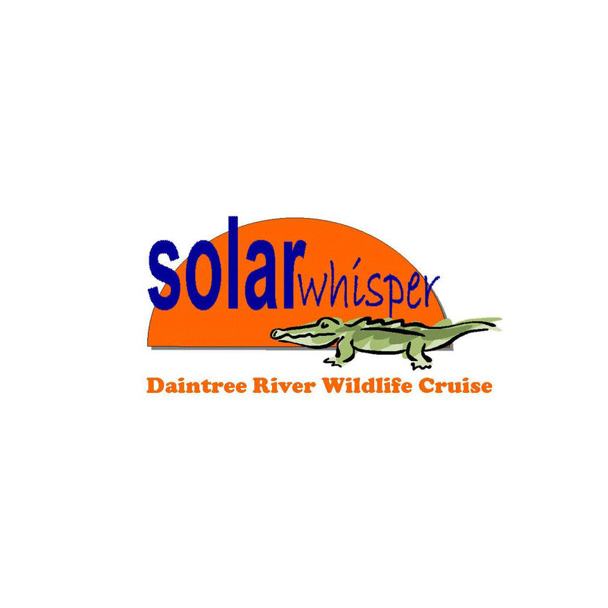 Solar Whisper Crocodile and Wildlife Cruises Logo - Daintree Queensland