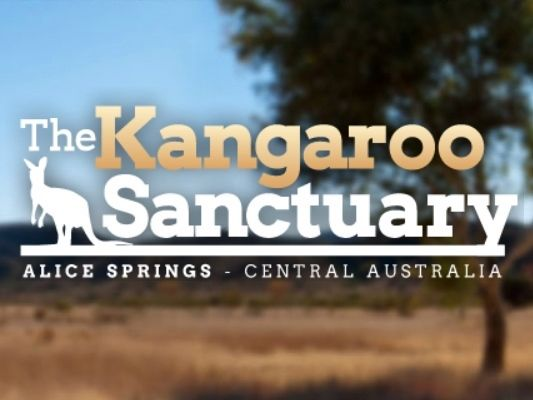 The Kangaroo Sanctuary Logo