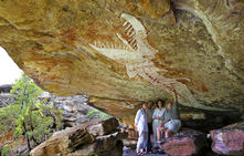 Davidsons Arnhemland Safaris Aboriginal Rock Art Rainbow Serpent