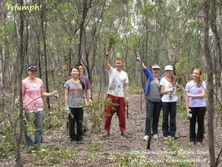 Enthusiastic Group at the Koala Conservation Day