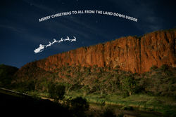 On the 24th Day of Christmas its Merry Christmas from The Land Down Under!