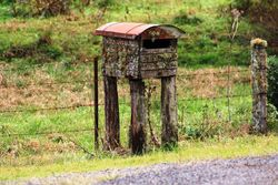 Old mailbox stands the test of time - by Dave Hambly