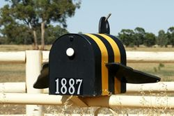 A great way to 'buzz' up an old style letterbox - Victoria