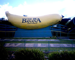 The Big Banana at Coffs Harbour - New South Wales