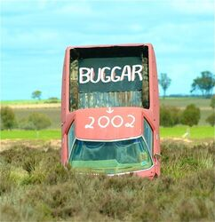 Buggar Ute - country Western Australia. Photo by Penny Smith