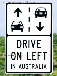 Drive on Left in Australia - Victoria