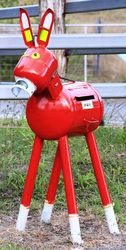 Donkey Farm Mailbox - Boonah - Queensland - by Dave Hambly