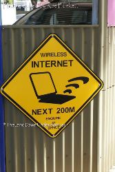 A welcome sign for those who are now internet dependent - Northern Territory