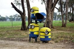 Minions have taken over the letterbox! - Victoria