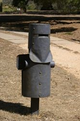 Ned Kelly - who better to protect the mail.