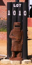 No bills will get past Ned Kelly - photo by Vivienne Tracy