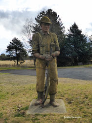 The Big Soldier - Uralla NSW by Janelle Swainston