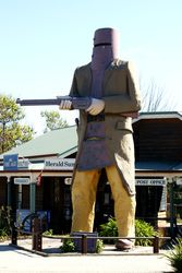 The Big Ned Kelly - Glenrowan - Victoria
