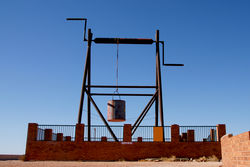 The Big Winch - Coober Pedy South Australia