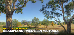 Southern End of the Grampians National Park - Western Victoria - February 2015