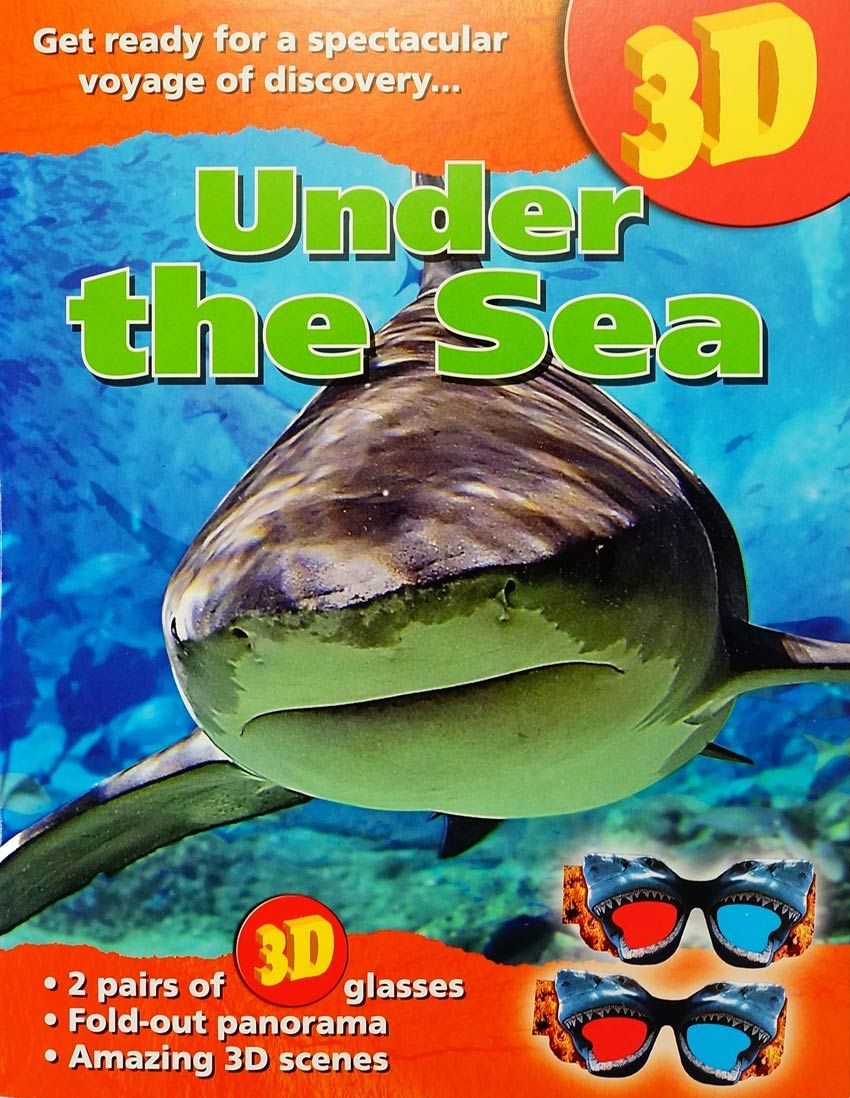 3D Under The Sea Book