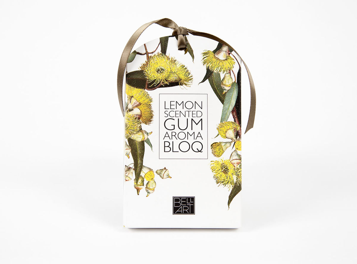 Enjoy the sweet scents of Australia with this Lemon Scent Aroma Bloq - available from The