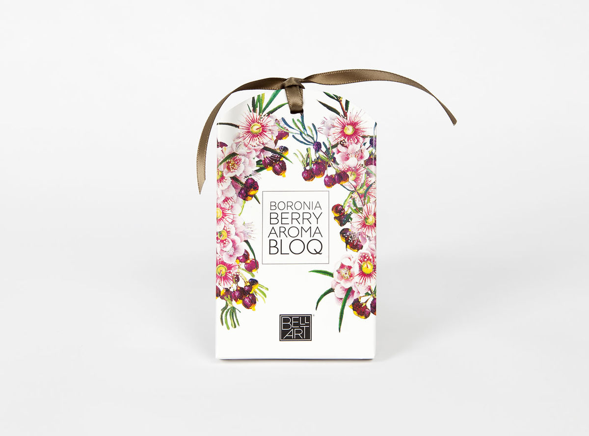 Enjoy the sweet scents of Australia with this Boronia Berry Aroma Bloq - available from Th