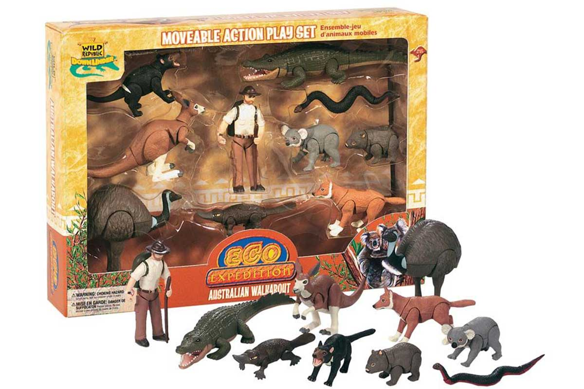 Moveable Action Playset – Australian Walkabout