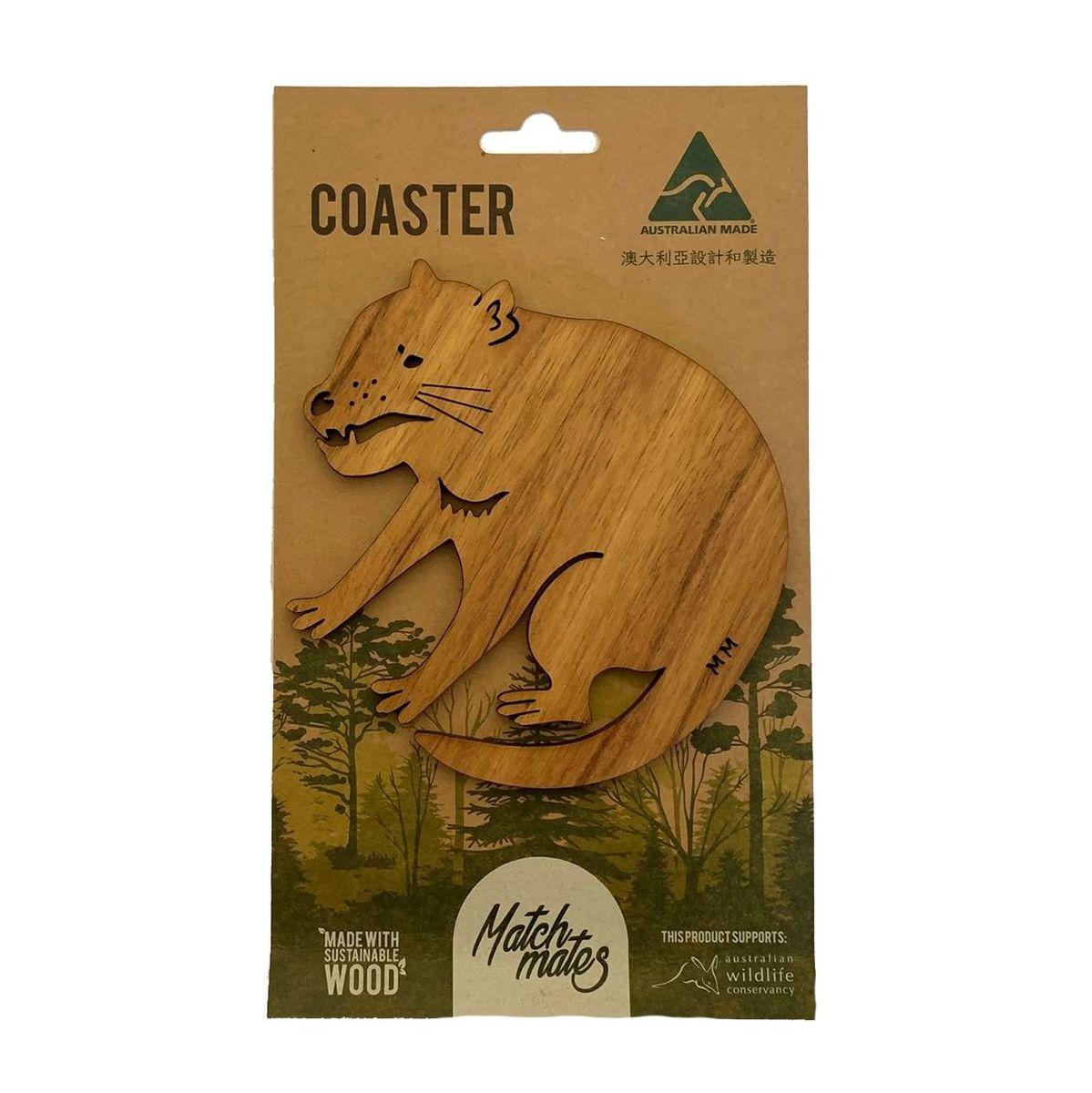 Blackwood Tasmanian Devil Coaster