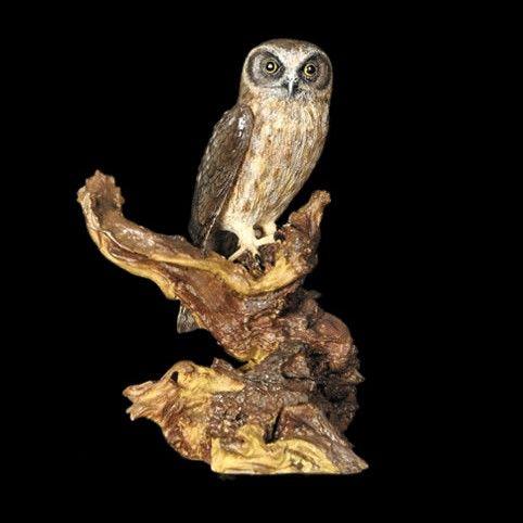 Boobook Owl Figurine - The Land Down Under