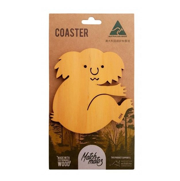 Coaster - Koala made with Australian Certified Pine