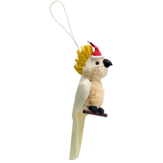 Cockatoo Christmas Tree Decoration