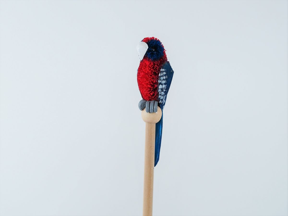 Crimson Rosella Pencil - The Land Down Under