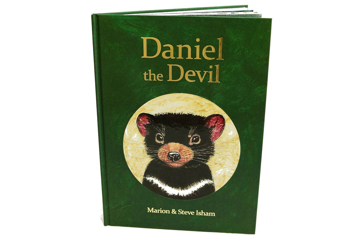 A Tasmanian Devil rescue story. Exciting text, informative content, solve riddles, find 25