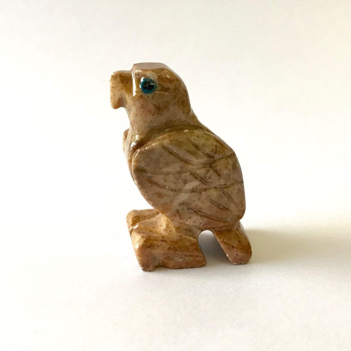 Eagle Stone Carving 4cm