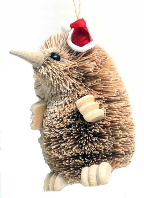 Echidna - Christmas Hanging Ornament