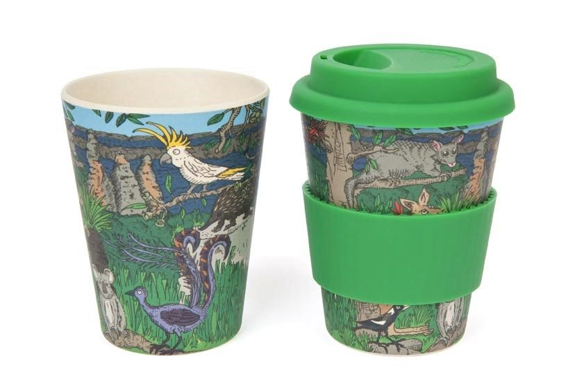 Eco-bamboo fibre Keep Cup - Australian Wildlife