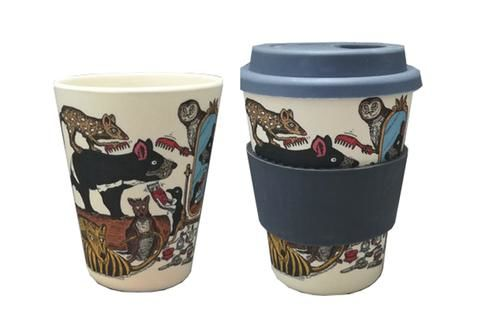 Eco-bamboo fibre Keep Cup - Tasmaninan Handsome Devil