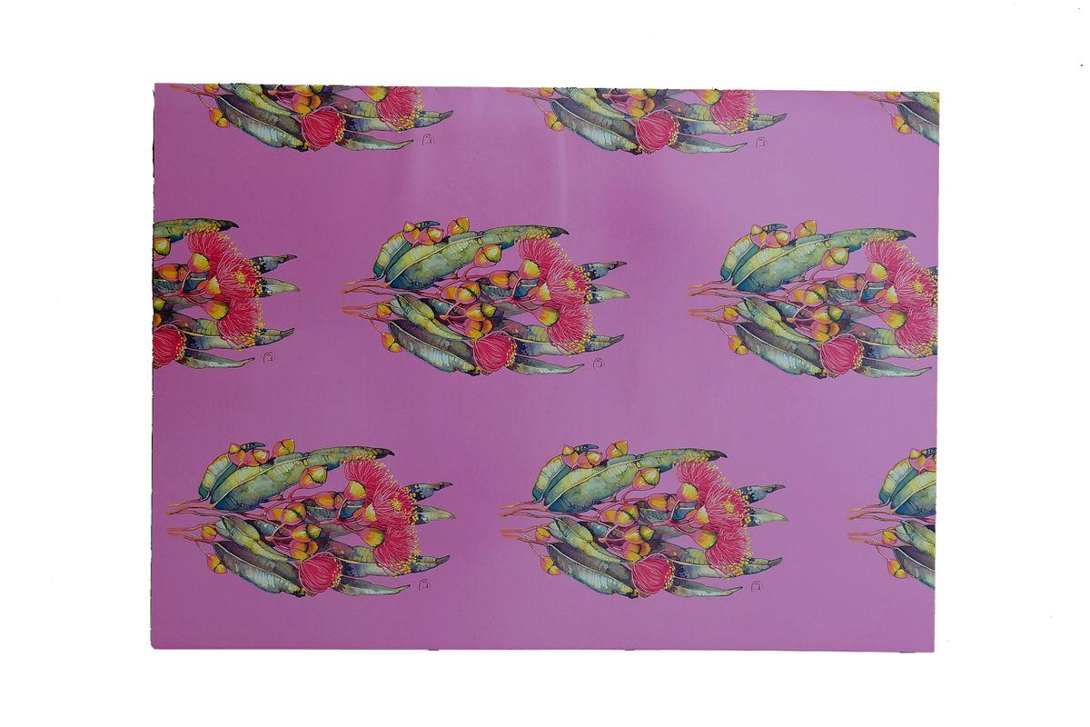 Gum Blossom Mugga Ironbark Gift Wrap