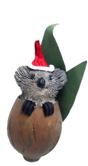Gumnut Baby Koala Christmas Tree Decoration | The Land ...