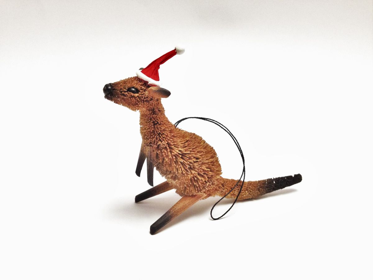 Kangaroo Christmas Tree Decoration
