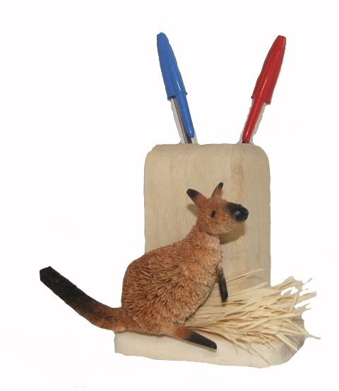 Kangaroo Pencil Pot - The Land Down Under