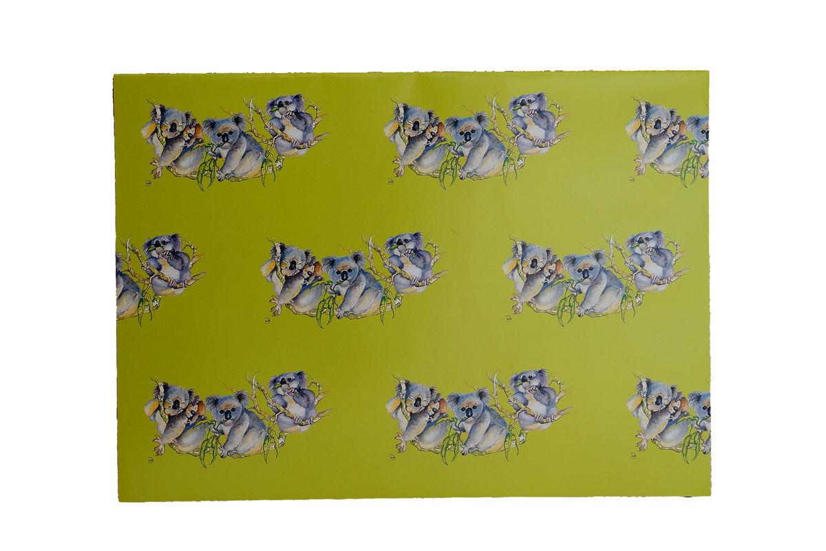 Koala Gift Wrap - Sheet size 46 x 64cm