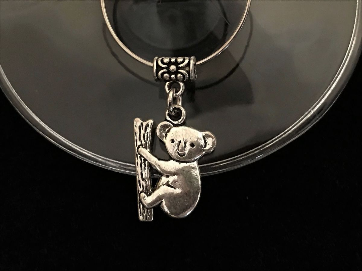 Koala Wine Glass Charm - The Land Down Under