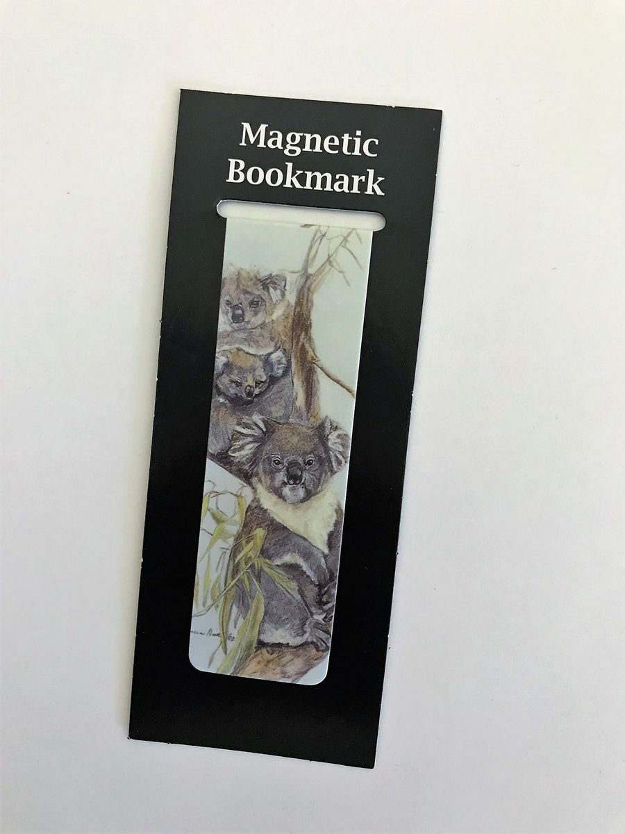Never lose your page again with this koala magnetic bookmark - available from The Land Dow