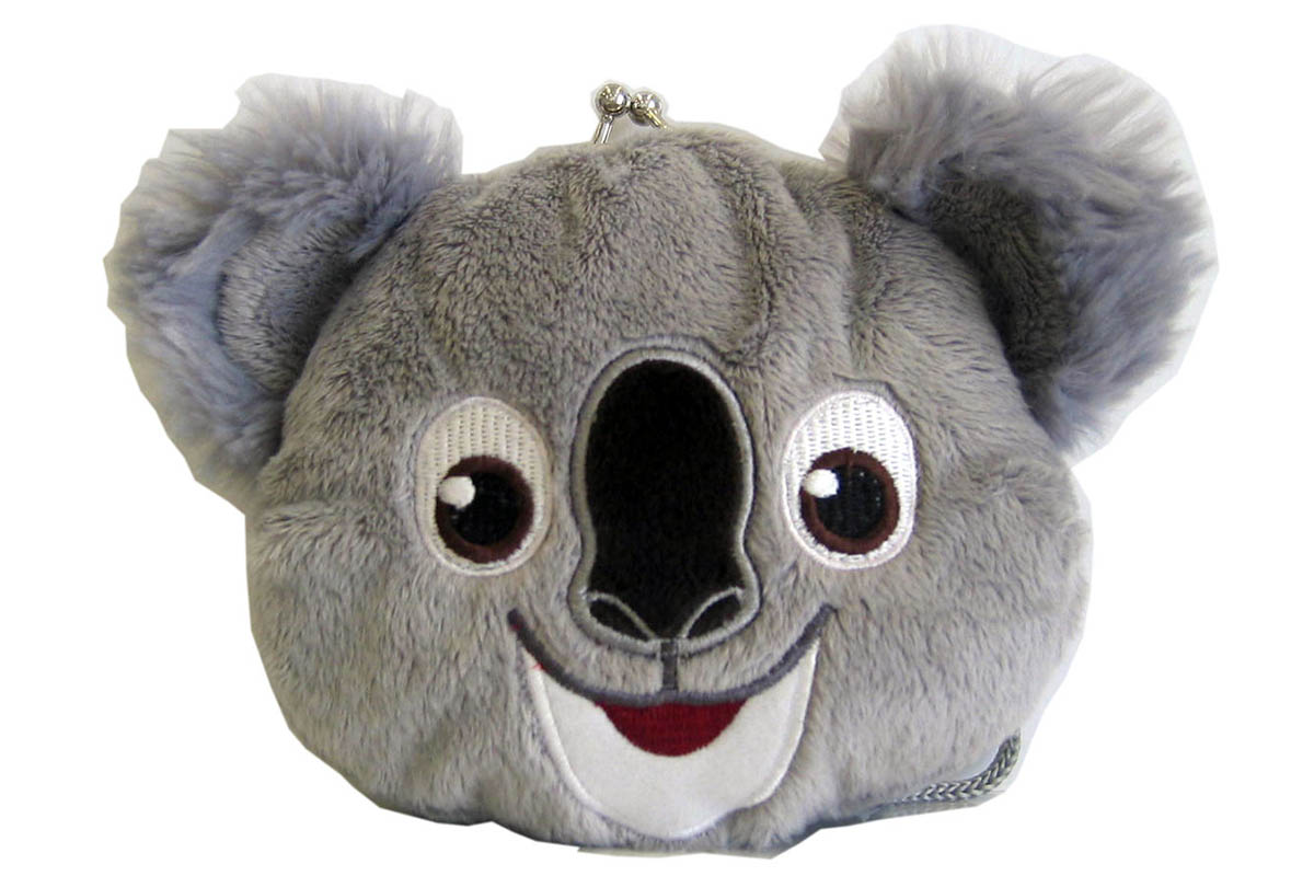 Koala Plush Clasp Purse