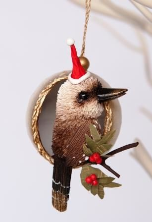 Kookaburra Christmas Bauble - The Land Down Under