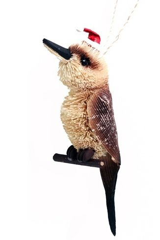 Kookaburra Christmas Hanging Ornament