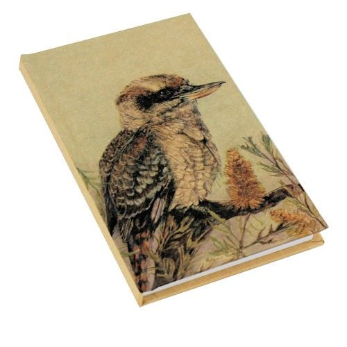 Kraft Kookaburra A6 Note Book. Available from The Land Down Under online store.