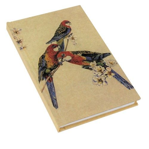 Kraft Rosellas A6 Note Book. Available from The Land Down Under online store.