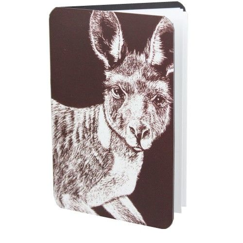 Magnetic Address Book - Kangaroo. The size of a credit card so it will fit neatly almost a
