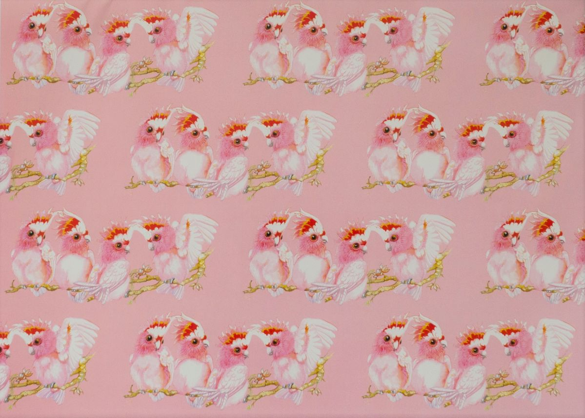 Major Mitchell Cockatoo Single Sheet Gift Wrap - sheet size 46 x 64cm