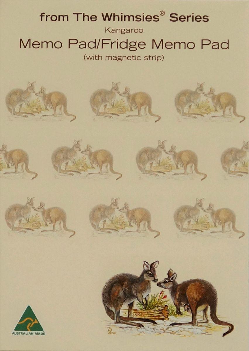 A6 Memo Fridge Pad - Kangaroo