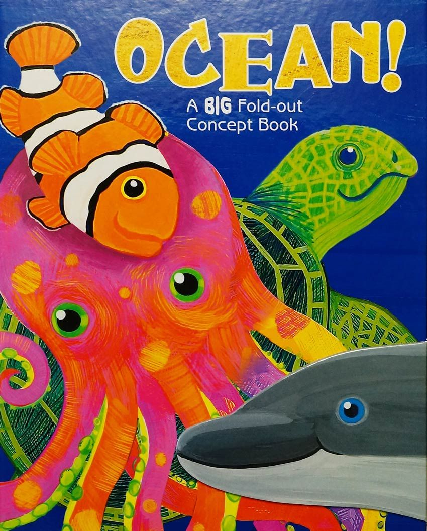 Ocean A Big Fold Out Concept Book