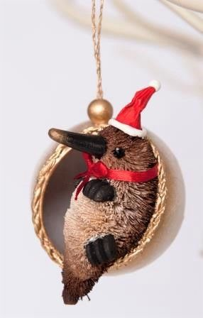 Platypus Christmas Bauble - The Land Down Under